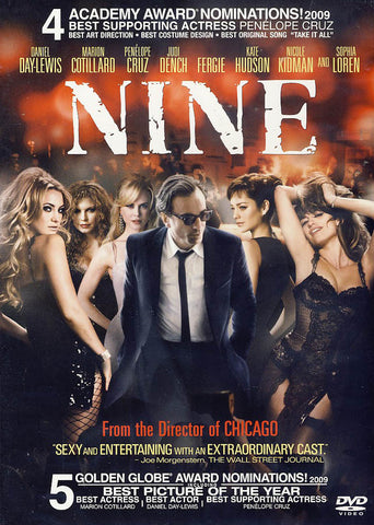 Nine DVD Movie