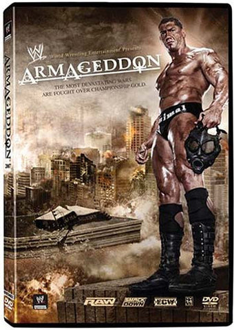 WWE - Armageddon 2007 DVD Movie