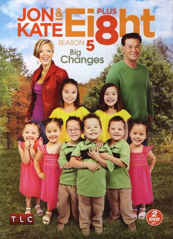 Jon and Kate Plus Ei8ht - Season 5 - Big Changes DVD Movie