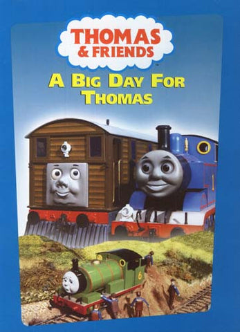 Thomas And Friends - A Big Day For Thomas DVD Movie