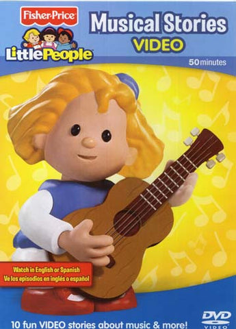 Fisher-Price Little People - Musical Stories DVD Movie