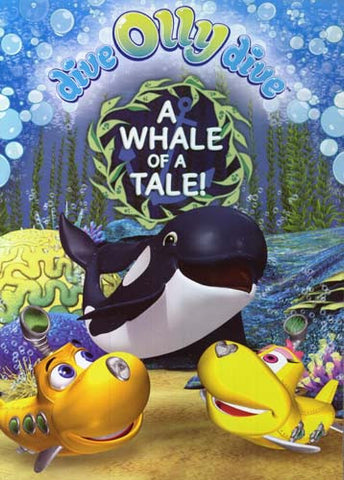 Dive Olly Dive! - A Whale Of A Tale! DVD Movie