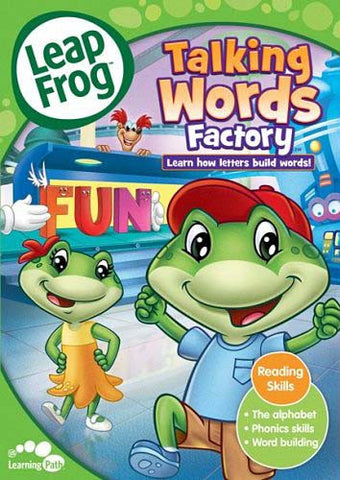 Leap Frog - Talking Words Factory (Reading Skills) (ALL) DVD Movie