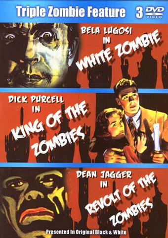 White Zombie/King Of Zombies/Revolt Of Zombies (Boxset) DVD Movie