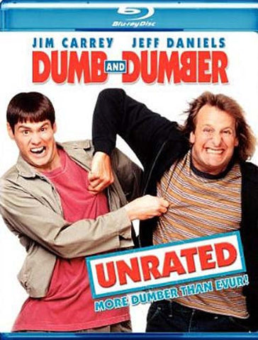 Dumb And Dumber (Unrated) (Blu-ray) BLU-RAY Movie