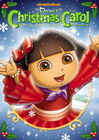 Dora The Explorer - Dora's Christmas Carol Adventure DVD Movie