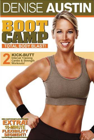 Denise Austin - Boot Camp - Total Body Blast (Maple) DVD Movie