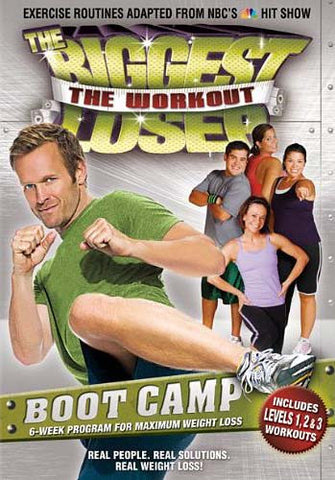 The Biggest Loser - The Workout - Boot Camp DVD Movie