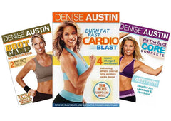 Denise Austin - (Boot Camp / Burn Fat Fast / Hit The Spot Core Complete) (3 Pack) (Boxset)