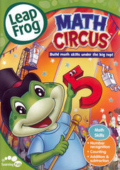 Leap Frog - Math Circus (Build math skills under the big top!)