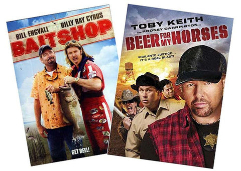 Bait Shop / Beer for My Horses (2 Pack) DVD Movie
