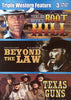 Boot Hill /Beyond The Law / Texas Guns (Triple Western Feature) (Boxset) DVD Movie