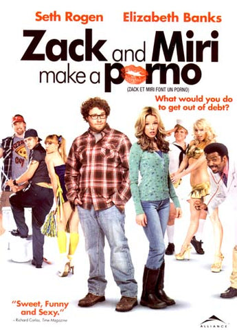 Zack And Miri Make A Porno (Single Disc Edition) DVD Movie