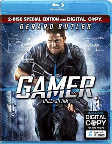 Gamer (Blu-ray) BLU-RAY Movie