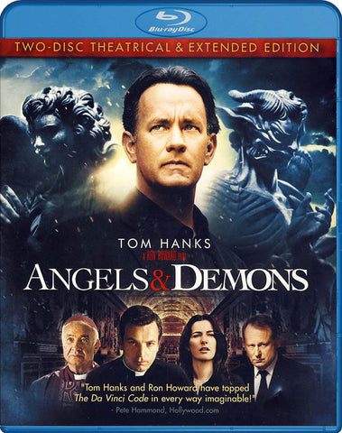 Angels And Demons (Two-Disc Theatrical And Extended Edition) (Blu-ray) BLU-RAY Movie