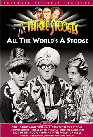 The Three Stooges - All the World's a Stooge DVD Movie