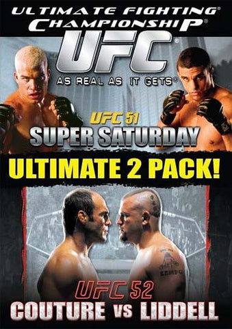 Ultimate Fighting Championships(UFC) - Vol. 51 - Super Saturday/Vol. 52 - Randy Couture vs Chuck DVD Movie