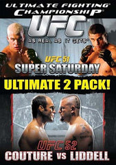 Ultimate Fighting Championships(UFC) - Vol. 51 - Super Saturday/Vol. 52 - Randy Couture vs Chuck