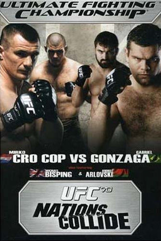 Ultimate Fighting Championship - UFC 70 - Nations Collide DVD Movie