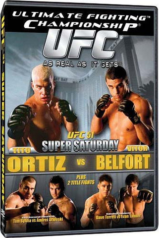UFC (Ultimate Fighting Championship) 51 - Super Saturday DVD Movie