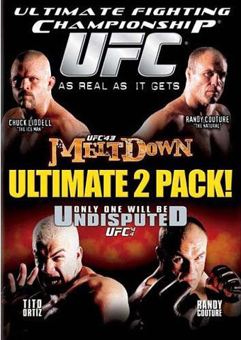UFC (Ultimate Fighting Championship) 43 - Melt Down/44 - Only One Will Be Undisputed DVD Movie