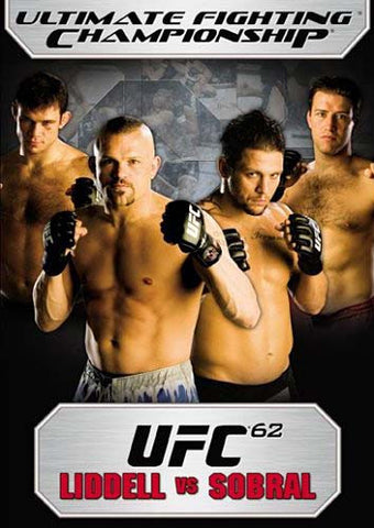 UFC (Ultimate Fighting Championship) 62 - Liddell Vs Sobral DVD Movie