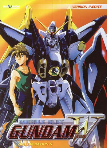 Mobile Suit Gundam Wing - Operation 6 (French Version) DVD Movie
