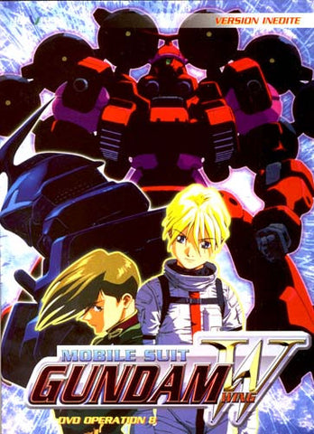 Mobile Suit Gundam Wing - Operation 8 (French Version) DVD Movie