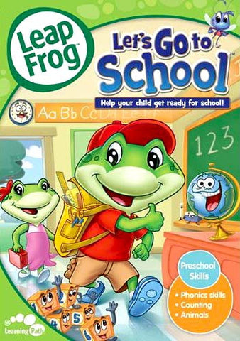 Leap Frog - Let's Go to School (Help Your Child Get Ready For School!) DVD Movie