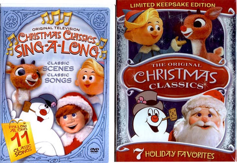 The Original Christmas Classics (Limited Keepsake Edition)/Christmas Classics Sing-A-Long (Boxset) DVD Movie