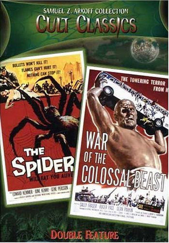 Earth Vs. The Spider/War Of The Colossal Beast - Cult Classics DVD Movie