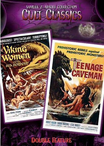 Viking Women And The Sea Serpent/Teenage Caveman DVD Movie