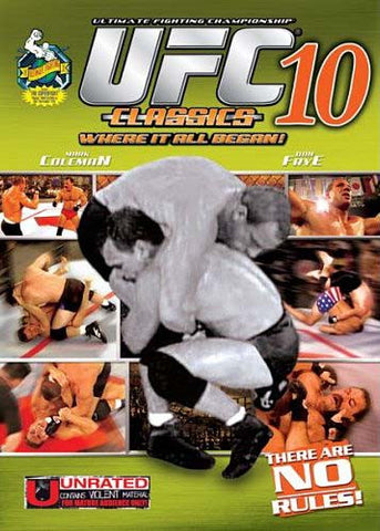 UFC - Ultimate Fighting Championship - Classics - Vol. 10 (LG) DVD Movie