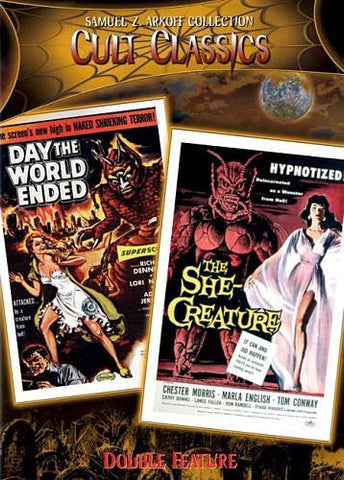 Day The World Ended/The She Creature (All) DVD Movie
