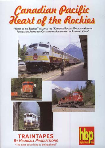Canadian Pacific's Heart Of The Rockies DVD Movie