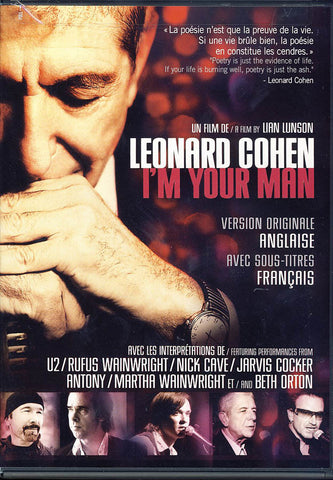 Leonard Cohen - I m Your Man (bilingual) DVD Movie