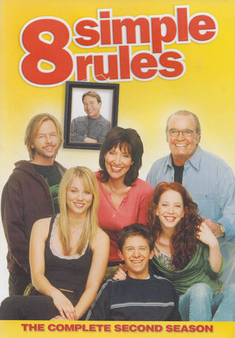 8 Simple Rules - The Complete Second (2nd) (Keepcase) (MAPLE) DVD Movie