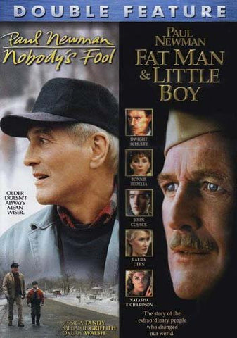 Nobody's Fool / Fat Man And Little Boy (Double Feature) DVD Movie