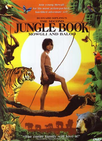 The Second Jungle Book - Mowgli And Baloo DVD Movie