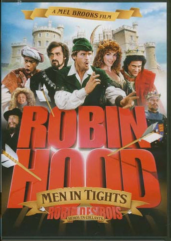 Robin Hood - Men In Tights (Mel Brooks) (Bilingual) DVD Movie