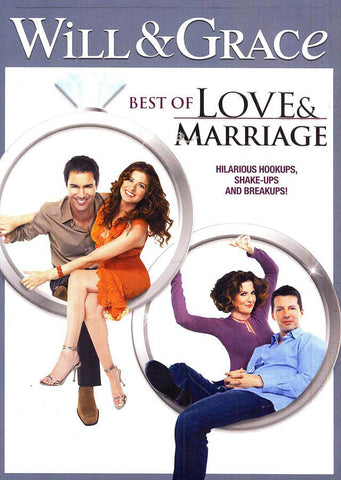 Will And Grace - Best Of Love And Marriage DVD Movie