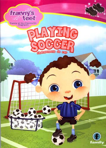 Franny s Feet - Playing Soccer (Bilingual) DVD Movie