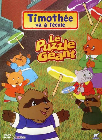 Timothee Va A L'Ecole - Le Puzzle Geant DVD Movie