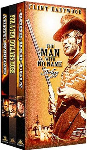 The Man With No Name - Trilogy (Boxset) DVD Movie