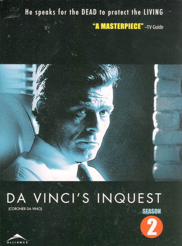 Da Vinci s Inquest - TheComplete Season 2 (Two) (Bilingual) (Boxset) DVD Movie