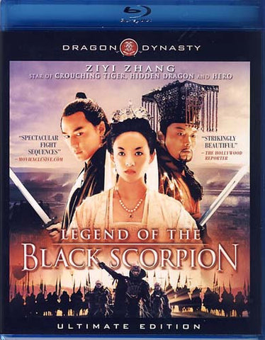 The Legend of the Black Scorpion - Ultimate Edition (Blu-ray) BLU-RAY Movie