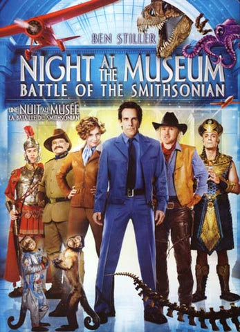 Night At The Museum - Battle Of The Smithsonian (Bilingual) DVD Movie