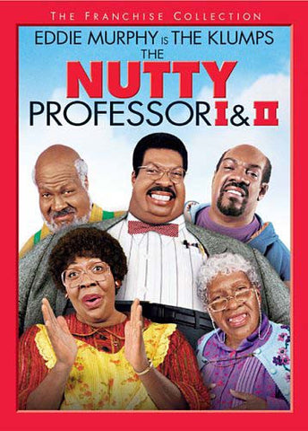 The Nutty Professor I And II DVD Movie