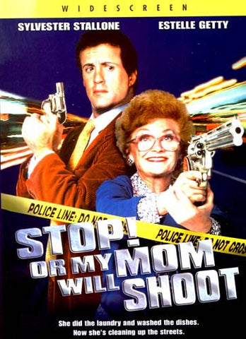 Stop Or My Mom Will Shoot DVD Movie