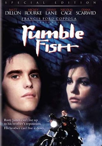Rumble Fish (Special Edition) (Bilingual) DVD Movie